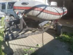 Телега для лодки пвх