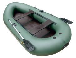 Лодка Компакт-300 NEW зеленый с транцем