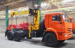 КМУ Тягач КАМАЗ 53504-6020-46 + КМУ Soosan SCS746L Top (верхнее упр.), 2019