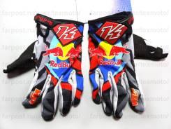 Мотоперчатки KINI RED BULL KTM M3, кроссовые перчатки размер М M L XL