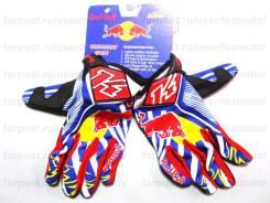 Мотоперчатки KINI RED BULL KTM M4, кроссовые перчатки размер М M L XL
