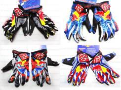 Мотоперчатки KINI RED BULL KTM, кроссовые перчатки размер М M L XL