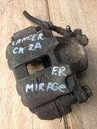 Суппорт тормозной правый передний Mitsubishi Lancer mirage