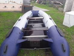 Продам лодку ПВХ   3.8 метра навигатор плюс мотор 9.9 сил