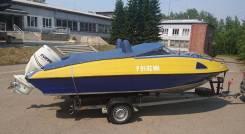 """Катер """"Николь Фаворит"""" мотор evinrude E-TEC 200HP"""