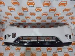 Бампер передний Nissan Panhfinder 2014-2017 оригинал, требуется ремонт