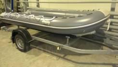 РИБ Алюминиевый Baltic 380 AL, РИБ - алюминиевое дно, надувные баллоны