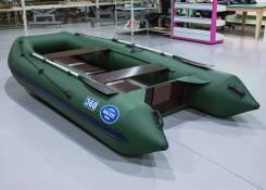 Baltic Boats Атлант 360Ф, лодка ПВХ, деревянные пайолы, зеленый