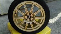 Крепкая GOLD ковочка от #BBS 5x100 7,5J  special for #Subaru #WRX #STI