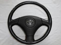 Оригинальный руль с косточкой под черное дерево Toyota / Lexus