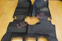 Комплект кожаных 3D ковриков ванночкой Suzuki Grand Vitara 2005-2015