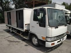 Toyota Dyna. Фургон купе с обеих сторон, 5 000куб. см., 4 000кг., 4x2