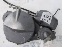 (№102) Крышка сцепления с масляным насосом и помпой suzuki rmx 250