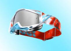 Очки 100% Racecraft Calculus Ice / Mirror Silver Lens (50110-205-02)