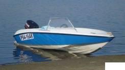 Пластиковая лодка Дельта с мотором Selva 35
