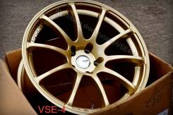 NEW! Deep-OK =Advan Racing RS= R18 9J 5x114,3 *GOLD* [VSE-4]