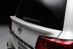 Спойлер Land Cruiser 200 2016+, WALD, белый перламутр на низ стекла
