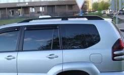 Рейлинги Toyota Land Cruiser Prado 120 (Прадо 125) Новые. Продольные. Toyota Land Cruiser Prado, GRJ120, GRJ120W, GRJ121, GRJ121W, GRJ125, GRJ125W, KD...