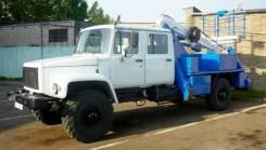 Випо-24. Автогидроподъемник ВИПО-24-01 на шасси ГАЗ-33086 (4х4) 5м. кабина, 4 500куб. см., 24,00м.