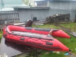 Продам надувную лодку QuickSilver 380