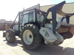 Valtra (Валтра) 8950/4 и мульчер FAE UMM/S225
