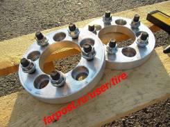 Японские проставки сверловка pcd 5-100 для кованых и литых дисков