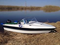 "Моторная лодка ""Bester-400"" капотная, с мотором Suzuki DF20AS."