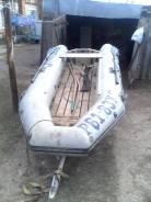 Лодка днт риб + мотор меркурий 15