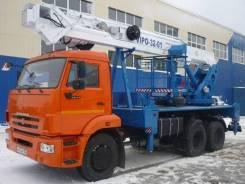 Випо-32. Автогидроподъемник ВИПО-32-01 шасси Камаз-43253 (4x2), 11 400куб. см., 32,00м.