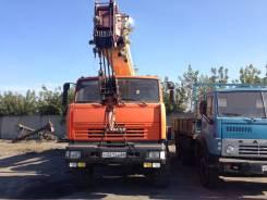 Ивановец КС-45717К-3Р. Камаз Ивановец 25 т. (Вездеход), 21,00м.