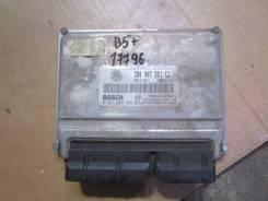 Блок управления двигателем VW Passat [B5] 2000-2005 (2.8L V6 3B0907551