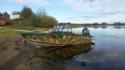 Лодка Windboat 47 DCM с мотором Yamaha 50