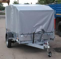 Легковой оцинкованный автомобильный прицеп 3,2х1,4м Трейлер