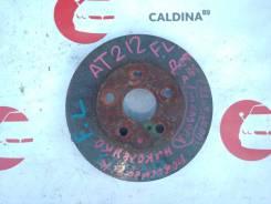 Диск тормозной. Toyota: Carina, Celica, Corona, WiLL VS, Caldina, Carina E 2C, 3SFE, 4AGE, 4SFE, 7AFE, 1ZZFE, 4AFE, 1NZFE, 2CT, 3CTE, 3SGE