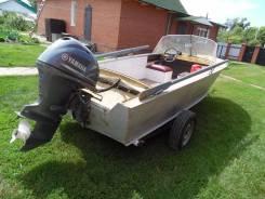 Продаю лодку с мотором Ямаха 40