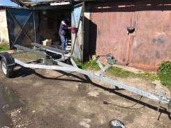 Оцинкованный Прицеп для лодки до 4,5 м