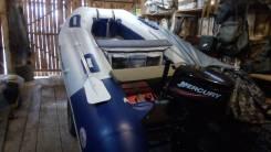 Продам лодку ПВХ Badger Heavy Duty 390 AL , мотор Mercury 30М