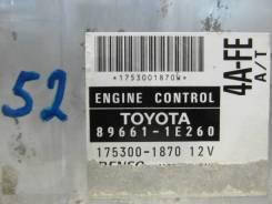 Блок управления efi Toyota Corolla AE114 4A-FE 89661-1E260