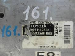 Блок управления efi Toyota VITZ SCP10 1SZ-FE 89661-52581