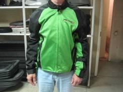 Куртка (текстиль) Michiru Summer Night City черно-зеленый