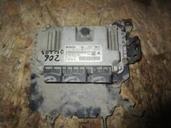 Блок управления двигателем Peugeot 206 1998-; Xsara Picasso 1999> 1,6 N