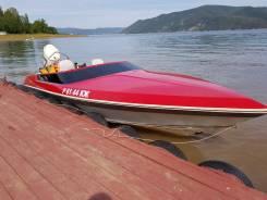 Спортивная круизная моторная лодка