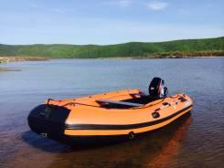 Лодка Solar с водомётом