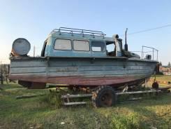 Продаю катер БМК, двигатель Д243 (МТЗ-82), ТО пройден в июле 2017