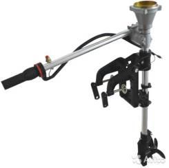 Насадка для переделки триммера в лодочный мотор винт металл