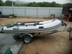 Надувная лодка Marlin с прицепом