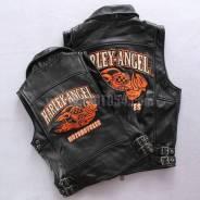 Жилет (кожа) Harley-Angel Motorcycles