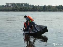 Новая устойчивая и надёжная пластиковая лодка под мотор до 6л. с