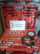 Набор для измерения давления топлива и масла с комплектом переходников