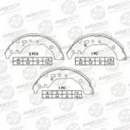 Колодки задние тормозные барабанные Avantech AVS0120